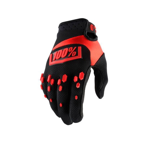 100% - AIRMATIC - BLACK RED