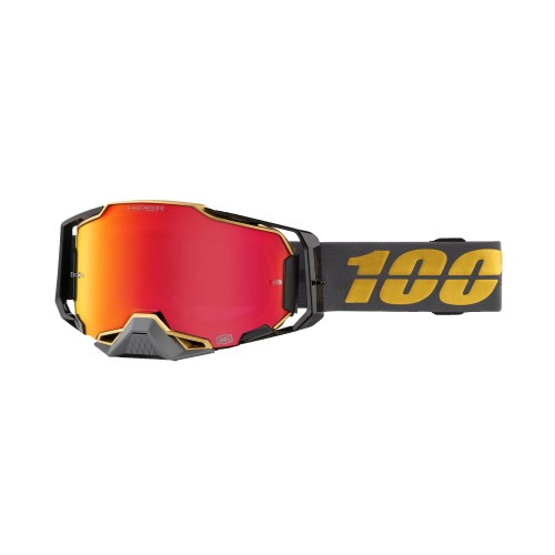 100% - ARMEGA - FALCON5 HiPER RED MIRROR LENS