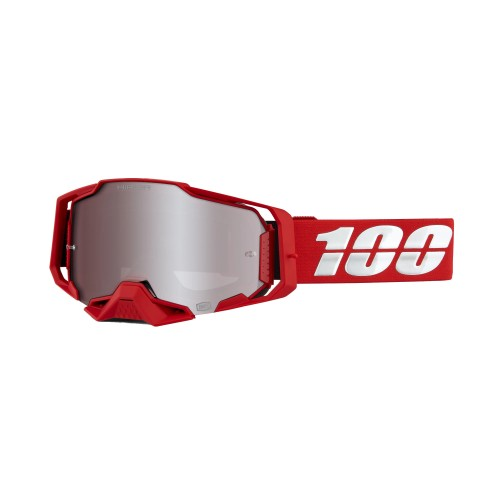 100% - ARMEGA - WAR RED HiPER SILVER MIRROR LENS