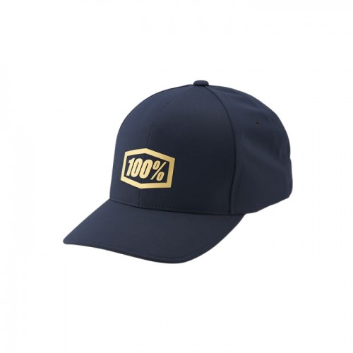100% - HAT - GENERATION X-FIT HAT NAVY