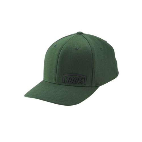 100% - HAT - REVOLT FLEXFIT HAT FATIGUE