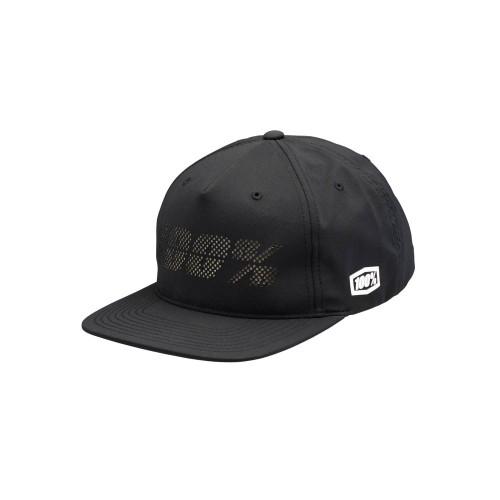 100% - HAT - FRAGMENT SNAPBACK BLACK