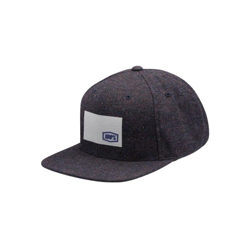 100% - HAT - NOBLE SNAPBACK NAVY