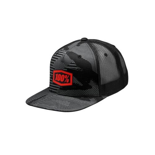 100% - HAT - ODYSSEY TRUCKER BLACK