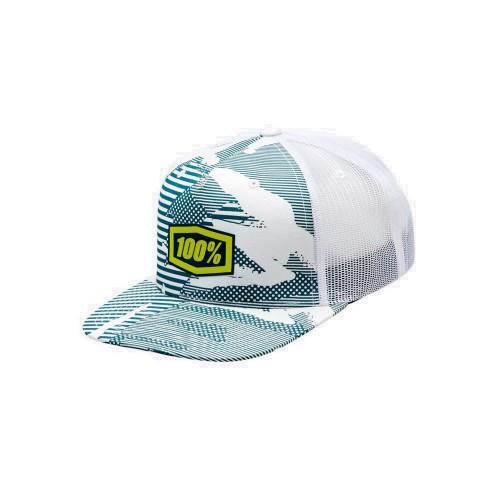100% - HAT - ODYSSEY TRUCKER WHITE