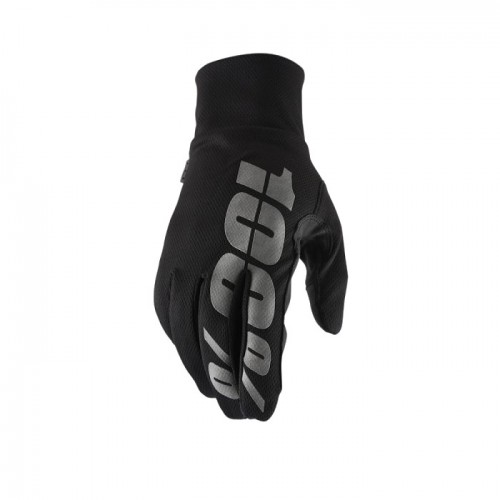 100% - HYDROMATIC - WATERPROOF GLOVE BLACK