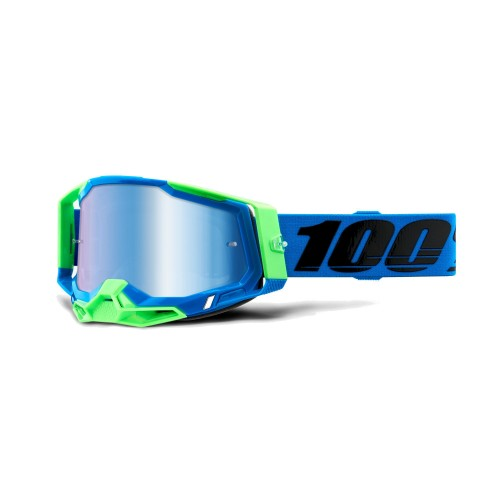 100% - RACECRAFT 2 - FREMONT MIRROR BLUE LENS