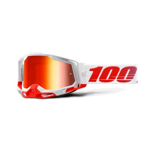 100% - RACECRAFT 2 - ST-KITH MIRROR RED LENS