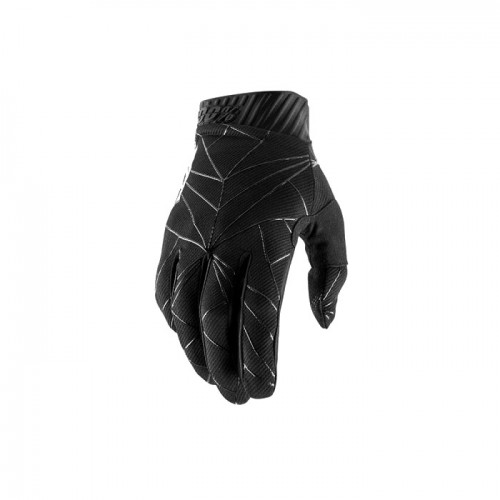 100% - RIDEFIT GLOVE - BLACK WHITE