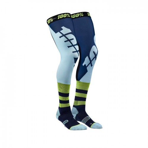 100% - SOCKS - REV PERFORMANCE MOTO SOCK - NAVY