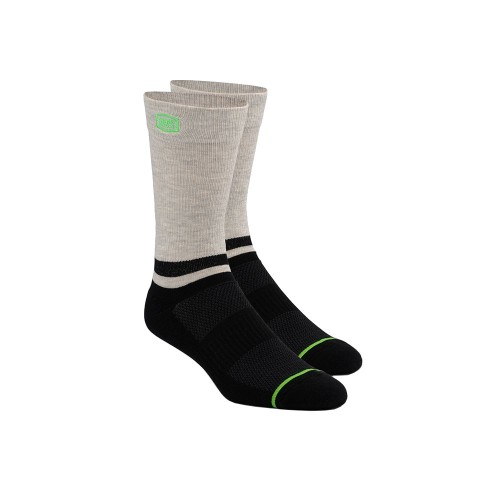 100% - SOCKS - BLOCK ATHLETIC SOCKS - BLACK