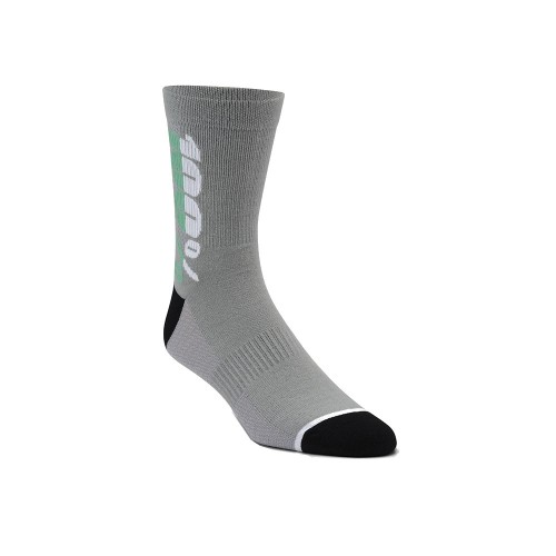 100% - SOCKS - RYTHYM MERINO WOOL PERFORMANCE SOCKS - CHARCOAL