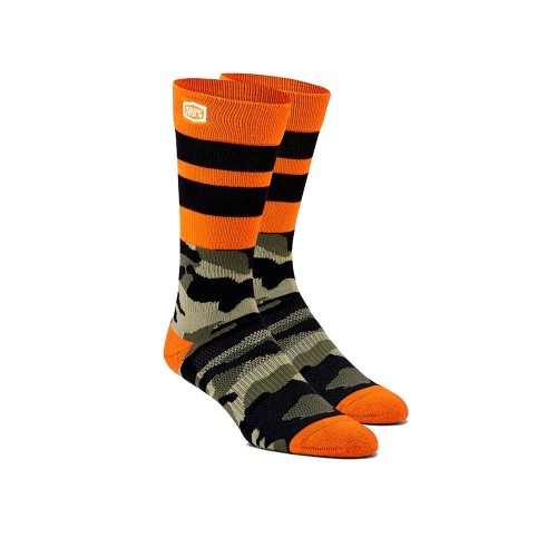 100% - SOCKS - TROOP ATHLETIC SOCKS - CAMO