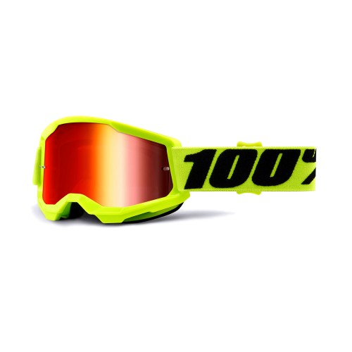 100% - STRATA 2 YOUTH - FLUO YELLOW