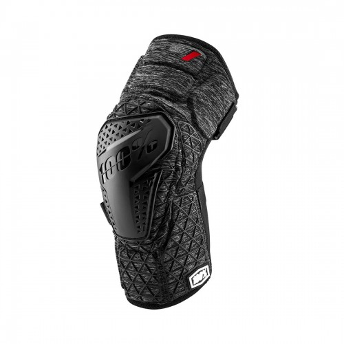 100% - SURPASS KNEE GUARD - GREY HEATHER BLACK