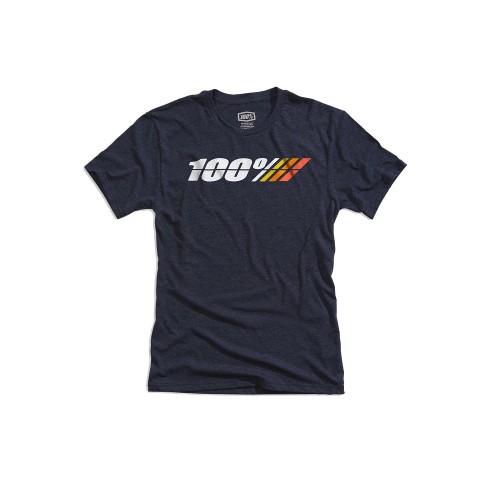 100% - SHIRT - MOTORRAD TECH TEE NAVY HEATHER