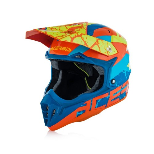 ACERBIS - IMPACT 3.0 HELMET - ORANGE BLUE