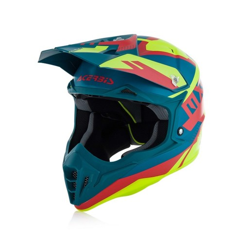 ACERBIS - IMPACT 3.0 HELMET - YELLOW RED