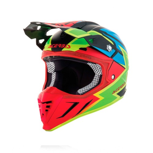 ACERBIS - PROFILE 3.0 HELMET - SNAPDRAGON BLACK RED