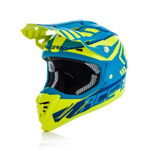 ACERBIS - PROFILE 3.0 HELMET - YELLOW BLUE
