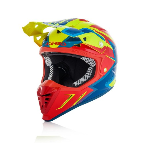 ACERBIS - PROFILE 3.0 HELMET - YELLOW RED