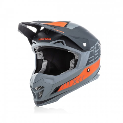 ACERBIS - PROFILE 4.0 HELMET - BLACK ORANGE