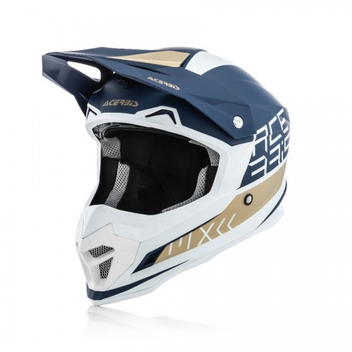 ACERBIS - PROFILE 4.0 HELMET - WHITE BLUE