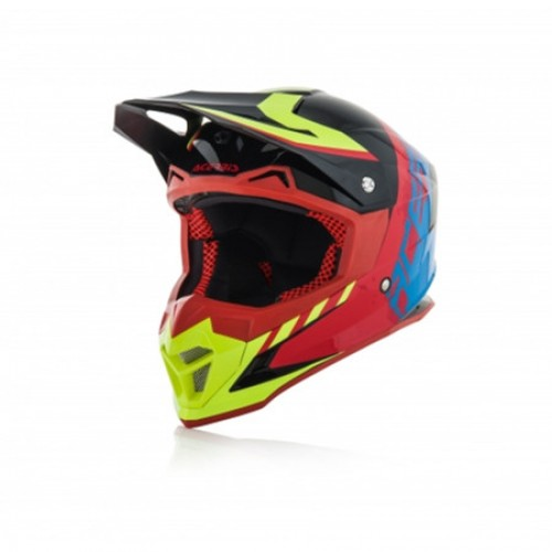 ACERBIS - PROFILE 4.0 HELMET - BLACK BLUE