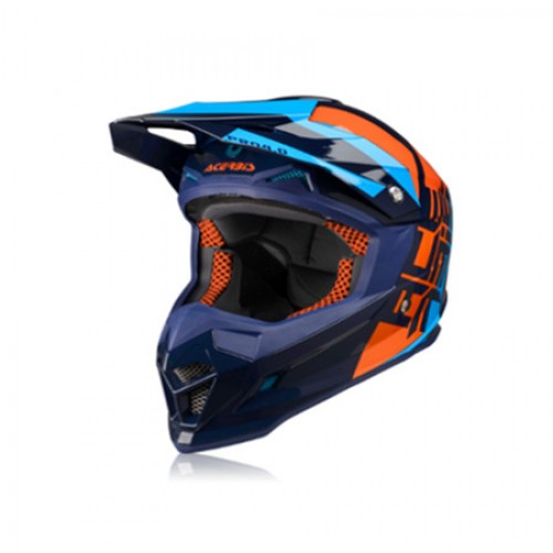 ACERBIS - PROFILE 4.0 HELMET - BLUE ORANGE