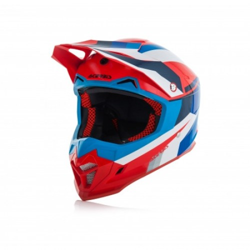 ACERBIS - PROFILE 4.0 HELMET - BLUE RED