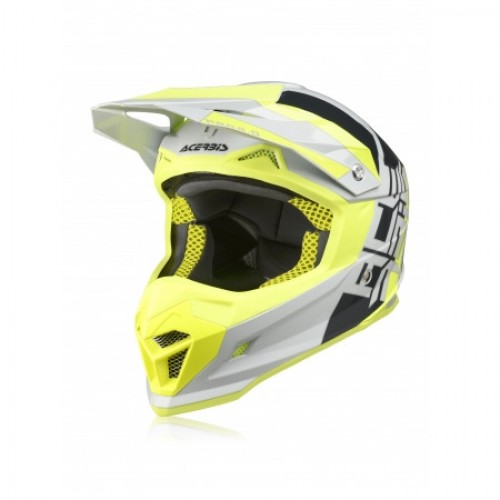 ACERBIS - PROFILE 4.0 HELMET - GREY YELLOW