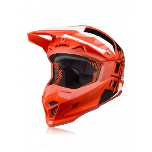 ACERBIS - PROFILE 4.0 HELMET - RED WHITE