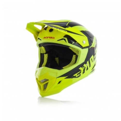 ACERBIS - PROFILE 4.0 HELMET - YELLOW BLACK