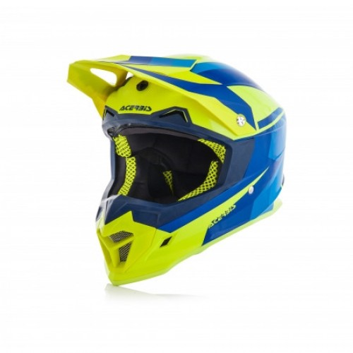ACERBIS - PROFILE 4.0 HELMET - YELLOW BLUE