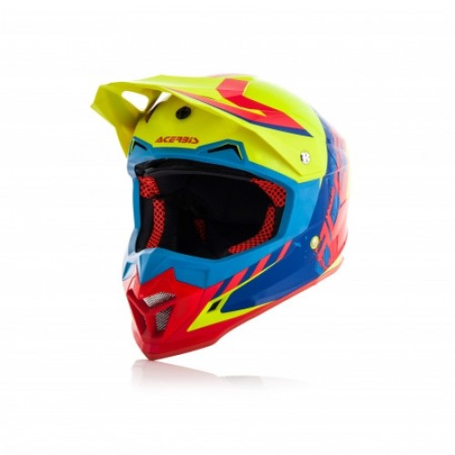 ACERBIS - PROFILE 4.0 HELMET - YELLOW RED