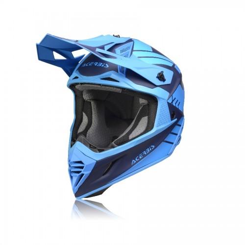 ACERBIS - X-TRACK HELMET - BLUE