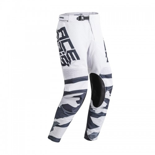 ACERBIS - HELIOS PANTS - GREY WHITE