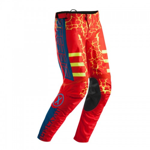 ACERBIS - WILDFIRE PANTS - RED YELLOW