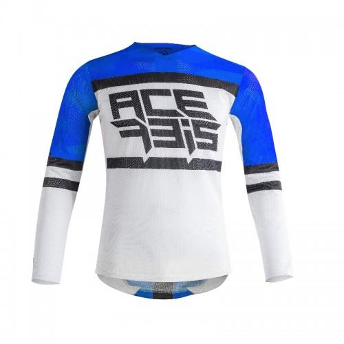 ACERBIS - HELIOS JERSEY- BLUE WHITE