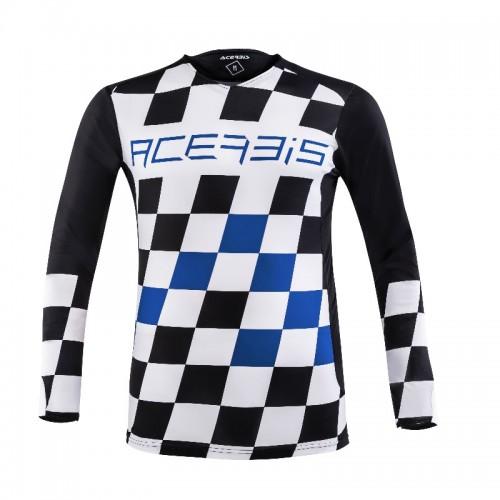 ACERBIS - START & FINISH MX JERSEY- BLACK BLUE