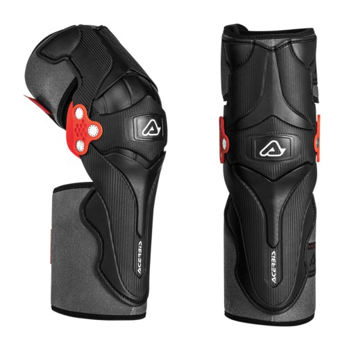 ACERBIS - KNEE GUARD - X-STRONG BLACK