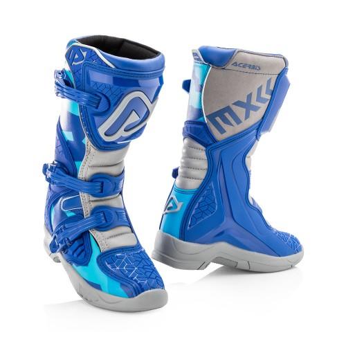 ACERBIS - X-TEAM JR - BLUE GREY