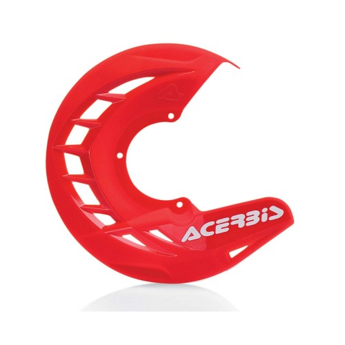 ACERBIS - X-BRAKE FRONT DISC COVER RED