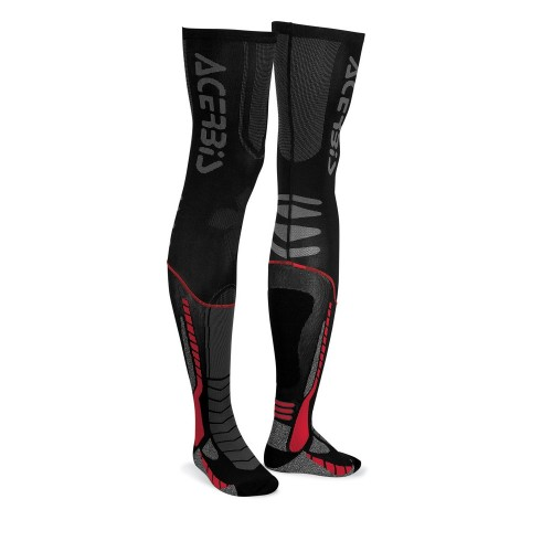 ACERBIS - MX SOCKS X-LEG  - BLACK RED