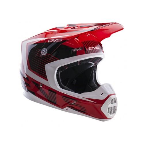 EVS - T5 VECTOR RED / BLACK