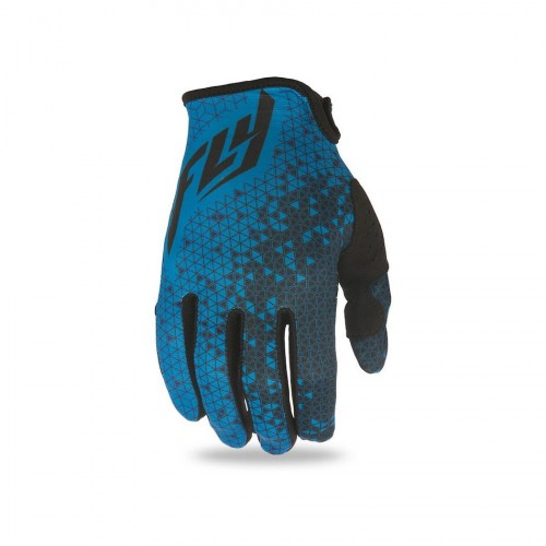 FLY RACING - LITE GLOVES - BLUE GREY