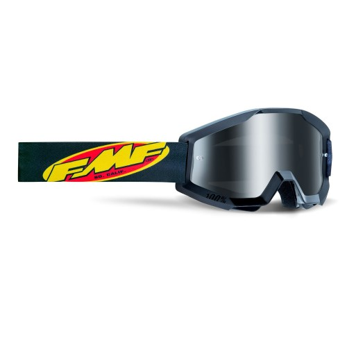 FMF - POWERCORE GOGGLES - BLACK MIRROR SILVER