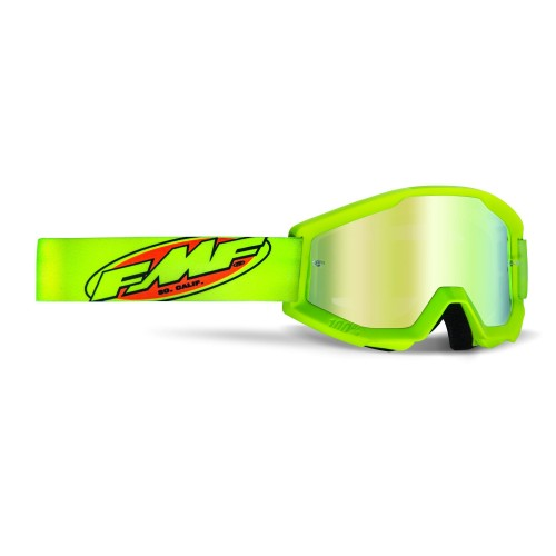 FMF - POWERCORE GOGGLES - YELLOW MIRROR GOLD LENS