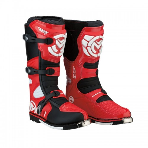 MOOSE RACING - S18 M1.3 MX BOOTS RED
