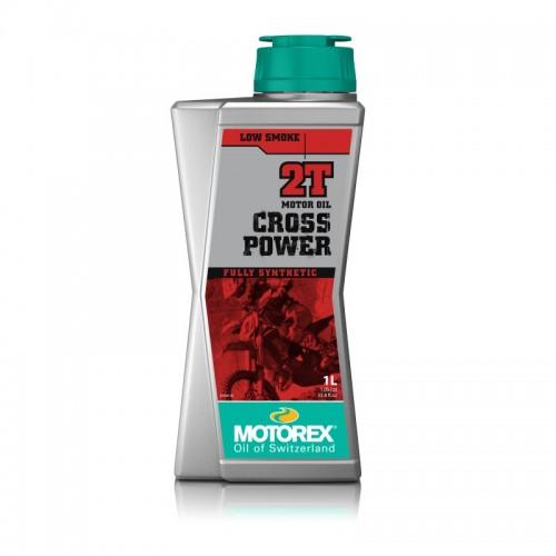 MOTOREX - CROSS POWER 2T SYNTHETIC 1L MOTOR OIL